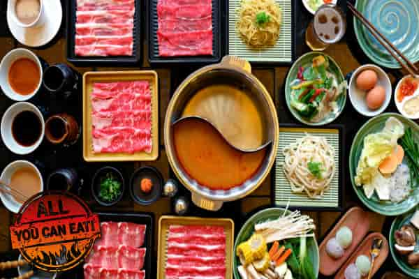 Full Set Shabu-shabu All You Can Eat